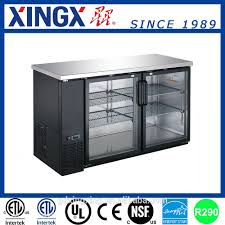 list manufacturers of bar refrigerator glass door buy bar