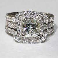 big wedding rings big engagement rings