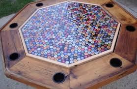 bottle cap table designs cap poker table top online education companies