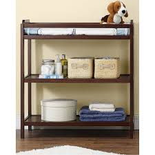 Convertible Crib Changing Table by Baby Relax Kypton 3 In 1 Convertible Crib Espresso Walmart Com