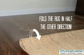 Clean Area Rug Cleaning Area Rug Three Easy Steps Its Overflowing