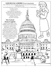 pledge of allegiance coloring page free coloring pages