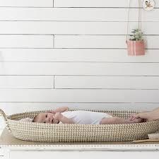 chagne baskets storage reva oval changing basket babies nursery and nursery