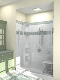 bathroom cozy handicap bathtub shower seat 134 ada roll in impressive accessible bathtub shower 132 ada bathroom on pinterest bathtub decor