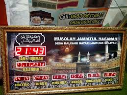 Jadwal Sholat Jogja Jam Sholat Digital Yogyakarta Jogja Diy
