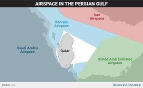 Doha Map Katar Krise Warum Qatar Airways Jetzt In Schwierigkeiten Steckt