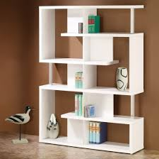 furniture contemporary oak wood bokshelves design ideas for