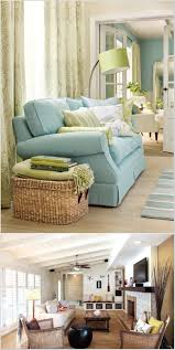 decorate your living room with wicker