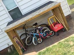 Roofing A House by Roofing A Backyard Toy And Bike Shed Diy Weekend Project