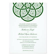 celtic wedding invitation ideas