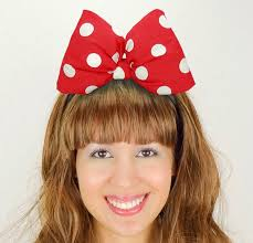 minnie mouse bow headband mickey mouse halloween costume