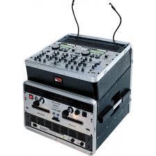 Audio Rack Case Cases Grc 10x8 10u Top X 8u Side Console Audio Rack