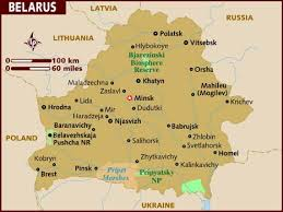 minsk russia maps map of belarus