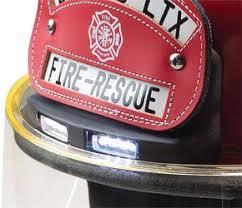 Fire Helmet Lights Bullard Traklite Helmets