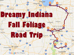 Clifty Falls State Park Map by This Is The Best Fall Foliage Road Trip To Take In Indiana