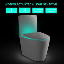 Motion Activated Night Light Seat 8 Colors Led Night Light Sensor Motion Activated