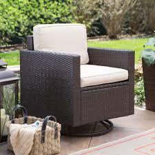 Patio Club Chairs Belham Living Augusta Stationary Rocker Lounge Chairs Set Of 2