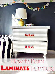 Upcycle Laminate Furniture - how to spray paint laminate furniture hometalk