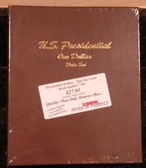 photo album set 7186 us presidential one dollar date set dansco album komka
