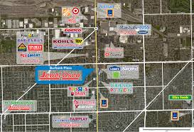 Edison Mall Map Burbank Plaza Phillips Edison U0026 Company
