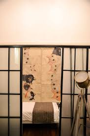 Blackout Door Curtains Cm So Many Cats Modern Japanese Door Curtain Room Divider Cotton