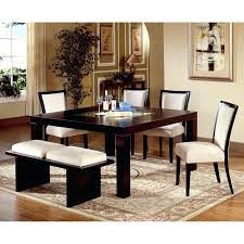 Dining Room Chairs And Benches Interior Dining Set With Bench Lawratchet Com