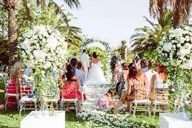 Wedding Arches Definition Glam Flower Filled Wedding In Ibiza Weddingomania