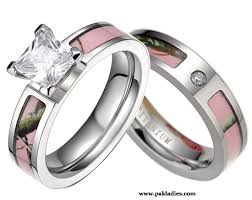 pink camo wedding rings pink camo wedding rings sets pak