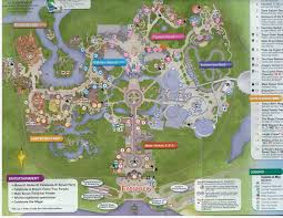 Magic Kingdom Map Orlando by Mouse Pad Disney Magic Kingdom Park Map By Wishesbyjennifer