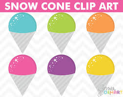 ice cream clipart 70 off sale summer clipart clipart snow cones digital