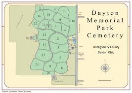 Dayton Ohio Map by Dayton Memorial Park Cemetery Dayton Ohio Burial Records