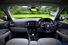 jeep compass limited interior jeep compass india launch to take place on july 31 2017 motoroids