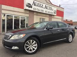 used lexus in toronto used 2009 lexus ls 460 awd for sale in north york ontario