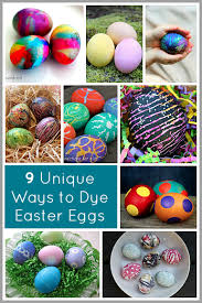 Decorating Easter Eggs With Silk by Unique Ways To Dye Easter Eggs