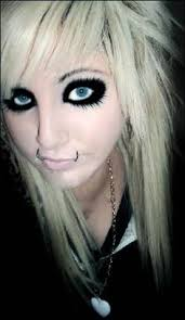 love the andy biersack makeup must try it