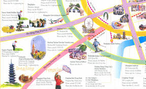 Maps Of China by A Complete Tourist Map For Sightseeing In Shanghai Guide To