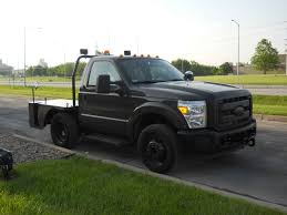 Ford F350 Ramp Truck - durable ground support equipment designed for military applications