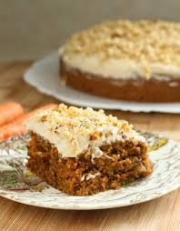 eggless carrot cake pretty much the moistest is that a word