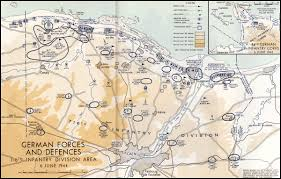 Normandy France Map Hyperwar The Victory Campaign Chapter 6