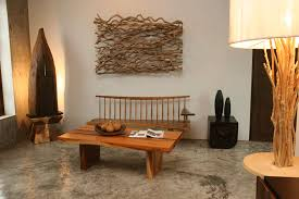 green home decor wood furniture settings by asian imports