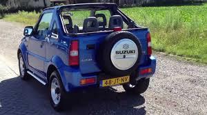 convertible jeep blue suzuki jimny 4x4 cabrio youtube