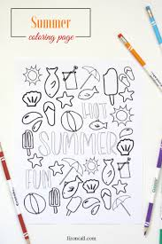 summer coloring liz call
