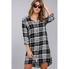 plaid shirt dresses shop for plaid shirt dresses on polyvore