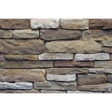 Sq Footage by Shop Ply Gem Stone Shadow Ledgestone 10 Sq Ft Aberdeen Faux Stone