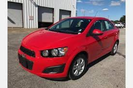 used chevrolet sonic for sale special offers edmunds
