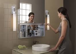 Bathroom Medicine Cabinet With Mirror Awesome Uplift Robern Is The Medicine Cabinet For Connected Home