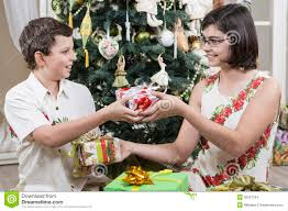 giving gifts stock images image 35237784