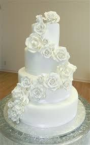 wedding cake roses white roses wedding cake cakecentral