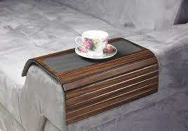 sofa tray table slide under sofa tray table sofa arm tray