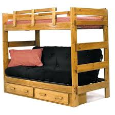 Doc Sofa Bunk Bed Bunk Bed With Sofas Underneath A Lofted Bed With A Ladder In A